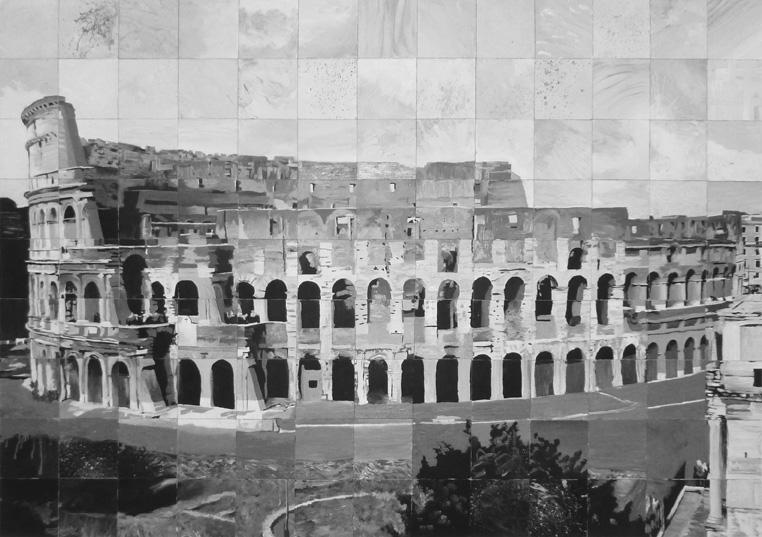Roman-colosseum-bw